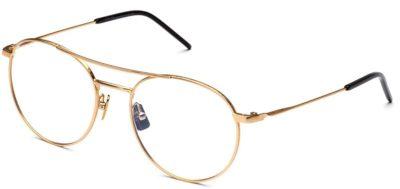Italia Independent 5306120000 gold 52 Unisex Eyeglasses