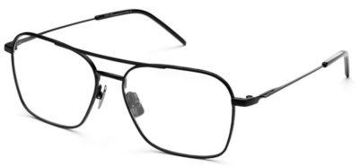 Italia Independent 5308009000 black 54 Men's Eyeglasses