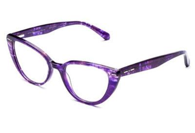 Italia Independent 5862.094.GLS havana violet 51 Women's Eyeglasses