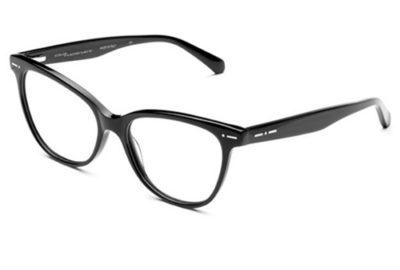 Italia Independent 5863.009.GLS black 53 Women's Eyeglasses