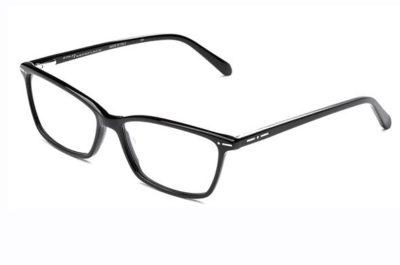 Italia Independent 5866.009.GLS black glossy 54 Men's Eyeglasses