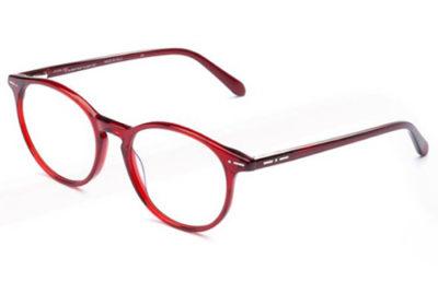 Italia Independent 5867.057.GLS bordeaux glossy 50 Women's Eyeglasses