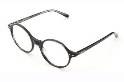 Italia Independent 5869032002 green horn 49 Unisex Eyeglasses