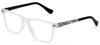 Italia Independent DYB006O.012.009 crystal & black 44 Eyeglasses