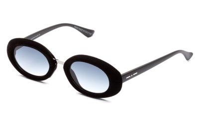 Italia Independent 0941V.009.000 velvet black 48 Women's Sunglasses