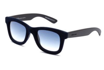Italia Independent 0090V.021.000 dark blue lente cat.2 50 Unisex Sunglasses