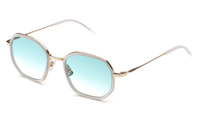 Italia Independent 311121012 rose gold 51 Unisex Sunglasses