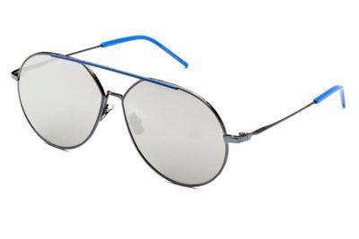 Italia Independent 312021022 blue 60 Unisex Sunglasses