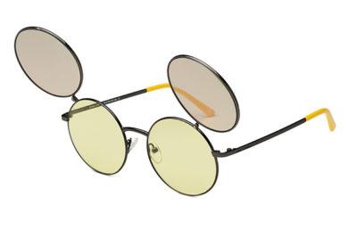 Italia Independent DY002.078.120 gun metal 51 Kids Sunglasses