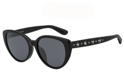 Jimmy Choo Elsie/f/s 807/IR BLACK 54 Women's Sunglasses