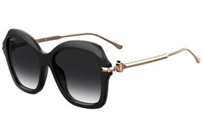 Jimmy Choo Tessy/g/s 807/9O BLACK 56 Women's Sunglasses