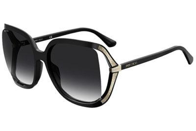 Jimmy Choo Tilda/g/s 807/9O BLACK 60 Women's Sunglasses