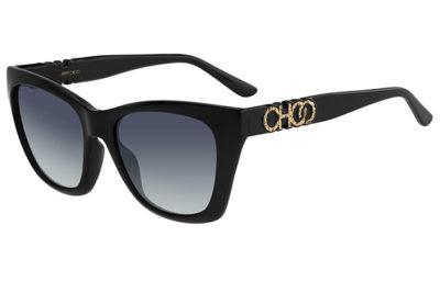 Jimmy Choo Rikki/g/s 807/9O BLACK 55 Women's Sunglasses