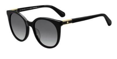 Kate Spade Akayla/s 807/9O BLACK 52 Women's Sunglasses