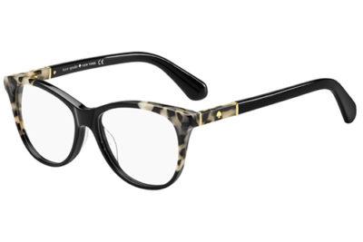 Kate Spade Johnna WR7/15 BLACK HAVANA 52 Women's Eyeglasses