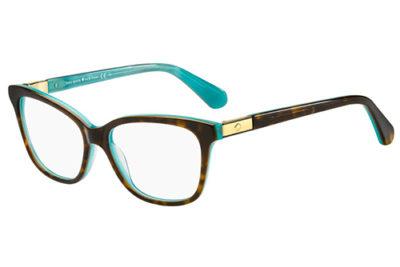 Kate Spade Jorja FZL/15 HAVAN TURQUO 53 Women's Eyeglasses