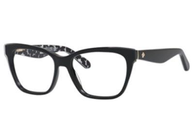 Kate Spade Joyann S30/16 BK GRYPATTRN 53 Women's Eyeglasses