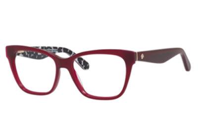 Kate Spade Joyann S4P/16 BRD BLKPTTRN 53 Women's Eyeglasses