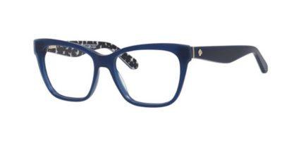 Kate Spade Joyann S4T/16 BLUEBK PTTRN 53 Women's Eyeglasses