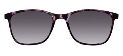 MODO YAMUNA clip on purple tortoise 53 Women's Eyeglasses