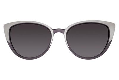 MODO KEA clip on purple 50 Women's Eyeglasses
