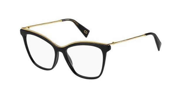 Marc Jacobs Marc 166 807/16 BLACK 54 Women's Eyeglasses