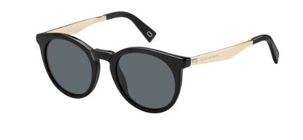 Marc Jacobs Marc 204/s 807/IR BLACK 47 Women's Sunglasses