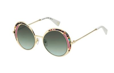 Marc Jacobs Marc 266/s M4R/EQ TURQHV BLCK 51 Women's Sunglasses