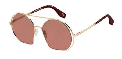 Marc Jacobs Marc 325/s NOA/4S GOLD BRGNDY 56 Women's Sunglasses