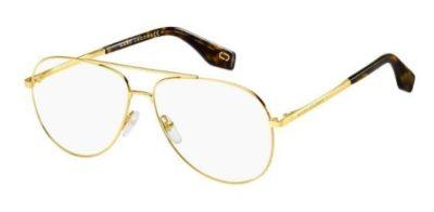 Marc Jacobs Marc 329 J5G/12 GOLD 57 Unisex Eyeglasses