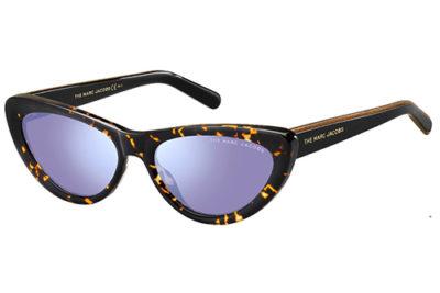 Marc Jacobs Marc 457/s 581/35 HAVANA BLCK 55 Women's Sunglasses