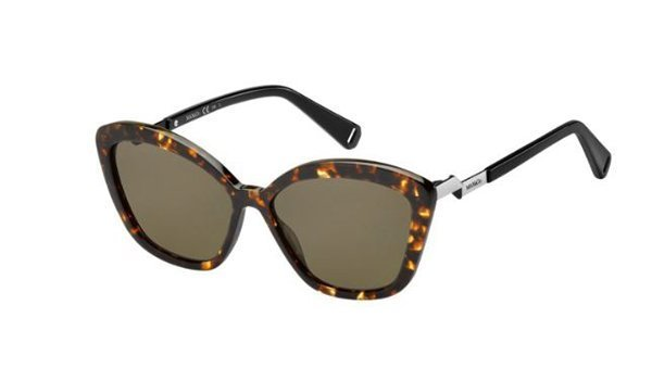 Max & Co. Max&Co.339/s 086/70 DARK HAVANA 57 Women's Sunglasses