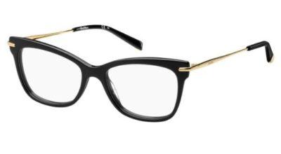Max Mara Mm 1309 807/17 BLACK 51 Women's Eyeglasses
