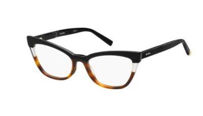 Max Mara Mm 1327 WR7/18 BLACK HAVANA 53 Women's Eyeglasses
