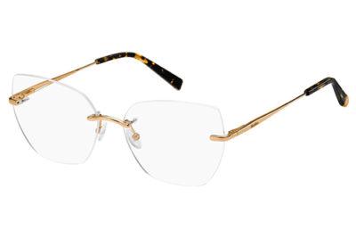 Max Mara Mm 1346 DDB/15 GOLD COPPER 57 Women's Eyeglasses