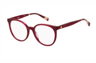Max Mara Mm 1347 JR9/19 RED MARBLE 52 Women's Eyeglasses