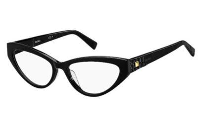 Max Mara Mm 1390/g 807/17 BLACK 55 Women's Eyeglasses