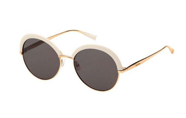 Max Mara Mm Ilde Ii 25A/K2 IVRY GDCOPPR 57 Women's Sunglasses