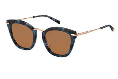 Max Mara Mm Needle Ix JBW/70 BLUE HAVANA 50 Women's Sunglasses