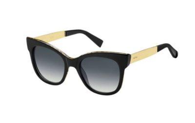 Max Mara Mm Textile 7T3/9O BK ANIMPRINT 53 Women's Sunglasses
