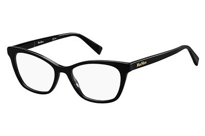 Max Mara Mm 1375 807/17 BLACK 50 Women's Eyeglasses