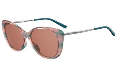 Missoni Mmi 0013/s DB1/4S TEAL PINK 56 Women's Sunglasses