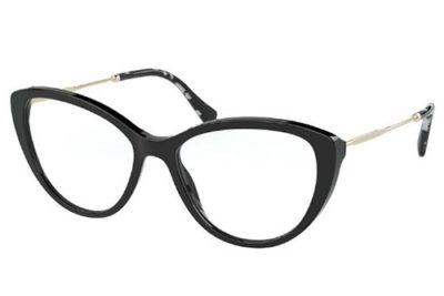 Miu Miu 02SV 1AB1O1 53 Women's Eyeglasses