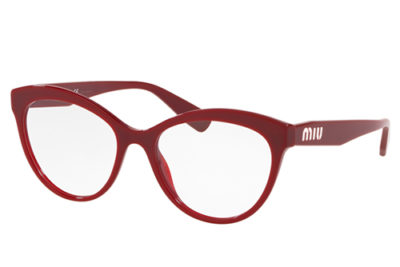 Miu Miu 04RV USH1O1 53 Women's Eyeglasses