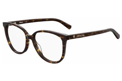 Moschino Love Mol558 086/16 DARK HAVANA 54 Women's Eyeglasses