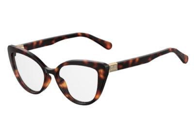 Moschino Love Mol500 086/17 DARK HAVANA 54 Women's Eyeglasses