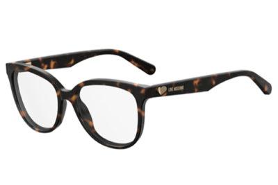 Moschino Love Mol509 086/16 DARK HAVANA 54 Women's Eyeglasses