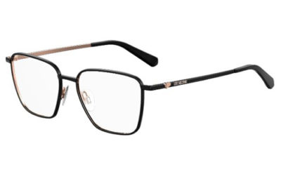 Moschino Love Mol533 26S/15 BLK GDCOPPER 52 Women's Eyeglasses
