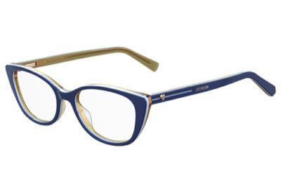 Moschino Love Mol548 PJP/17 BLUE 51 Women's Eyeglasses