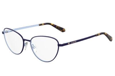 Moschino Love Mol551 PJP/16 BLUE 53 Women's Eyeglasses